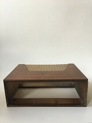 """H.H. SCOTT """"NARROW D"""" CABINET FOR 121-A 121-B 121-C Preamp"""