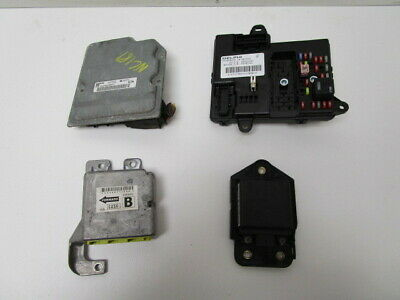 2008-2012 buick enclave electronic chassis body control module bcm 139k oem