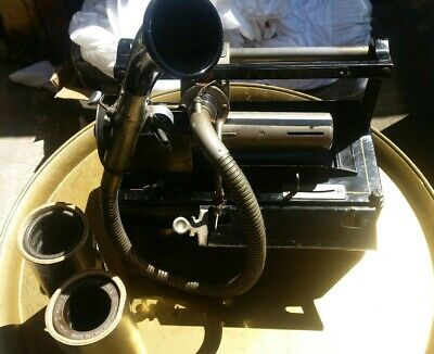 Antique Vintage Wax cylinder Dictaphone, similar to Edison Phonograph, Recording