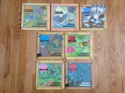 Lot 7 ONE SMALL SQUARE Books by Silver 2 HC Backyard CAVE Night Sky POND & More!