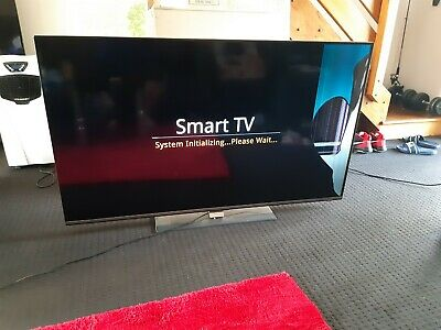 Teac 65 inch 3d smart tv - Black for parts or display