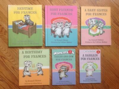 Lot 6 FRANCES Books & Bonus by HOBAN Birthday BEDTIME Sister BARGAIN & More 2 HC