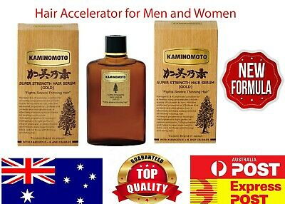 KAMINOMOTO Hair Tonic Gold - Hair Treatment Growth Accelerator Anti Loss Hair