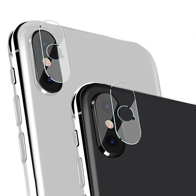 Back Camera Lens Tempered Glass Protector For iPhone X iPhone 8 Plus/8/7/6JCA
