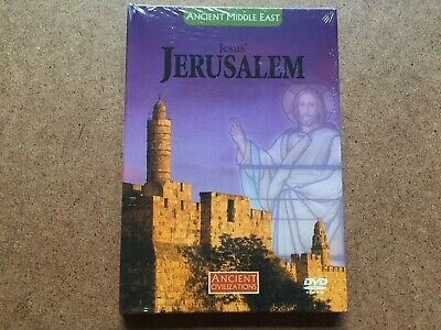 Ancient Middle East Jesus' Jerusalem Dvd New & Sealed