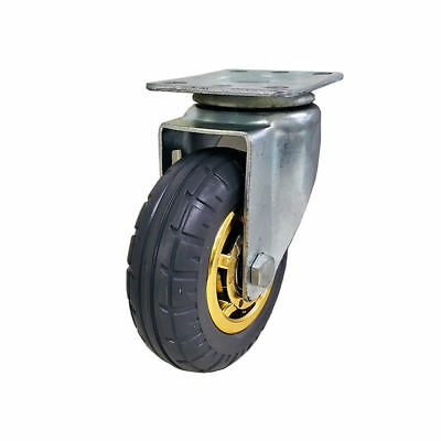 Heavy Duty Caster Wheel/ Castor Wheel- 125mm/ 5in, 125kg Load Capacity, Rubber