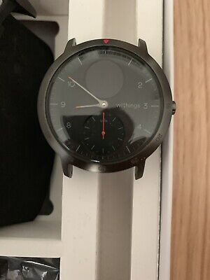 Withings Steel HR Sport Multisport Hybrid Smartwatch Heart Rate and Fitness New