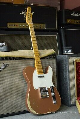 Fender Custom Shop 1952 Telecaster Copper Heavy Relic Electric Guitar, y9563