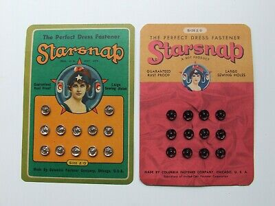 Vintage Snap Fasteners Collectables