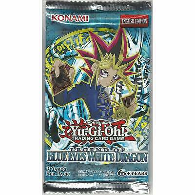 YuGiOh Legend of Blue Eyes White Dragon 1 Sealed Booster Pack: Unlimited Edition