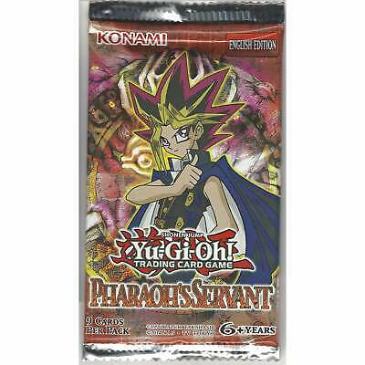 YuGiOh Pharaoh's Servant 1 Sealed Booster Pack - Unlimited Edition TCG Cards PSV