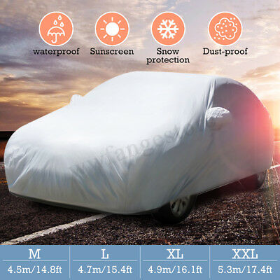 4x4 SUV Car Cover Waterproof Dust Rainproof Sunscreen UV Snow Protector 5.3M XXL