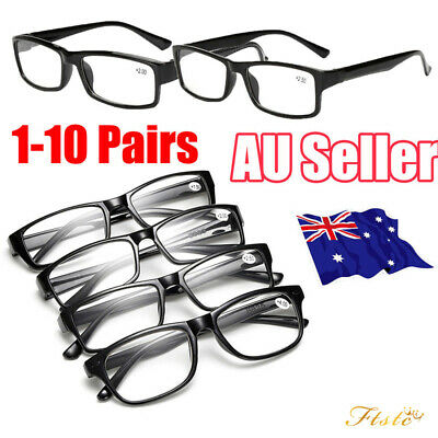 Wholesale Mens Ladies Frame Magnifying Reading Glasses Nerd Spectacl
