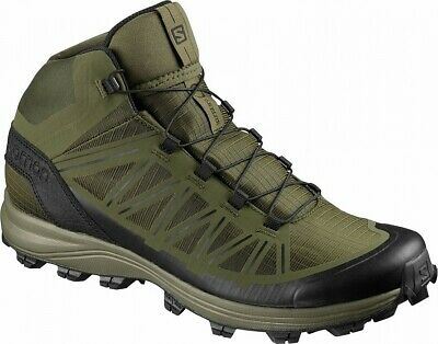 Salomon Speed Assault Forces Olive Military Boots Polizei Schuhe