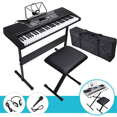 61 Key Digital Piano Music Keyboard Electronic Keyboard Organ for Kid Children