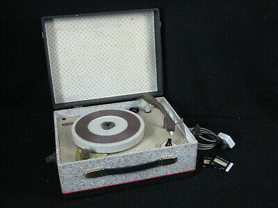 Vintage MRG Record Player Made in England!