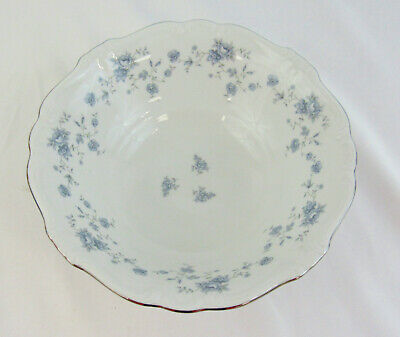 "Johann Haviland Bavaria Germany ""Blue Garland"" Round Vegetable Serving Bowl"