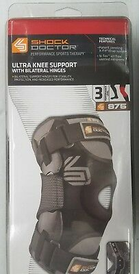 a48a5aeb3b Shock Doctor 875 Ultra Knee Brace with Bilateral Hinges XXX-Large *New Open  Box