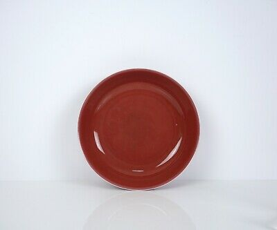 A Copper Red Glazed Dish