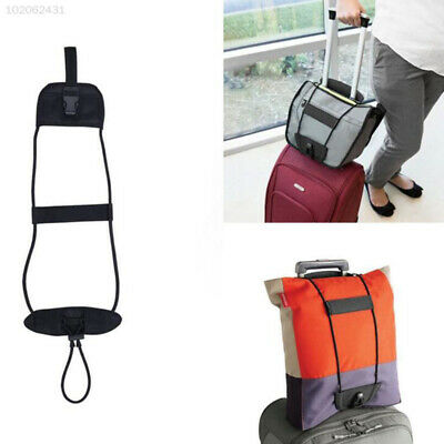 Luggage Bag Strap Travel Accessories Adjustable Belt Bungee Strap Black Gadget
