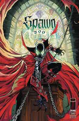 SPAWN 300 COVER G J SCOTT CAMPBELL VARIANT NM TODD McFARLANE