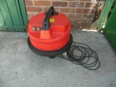 Nevada 629 soteco 2000w type wdl2 industrial wet and dry vacuum twin motor 240v