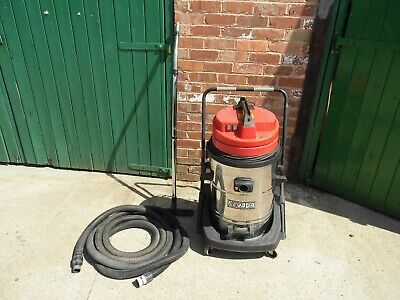 nevada 629 soteco 2000w type wdl2 industrial wet and dry vacuum twin motor