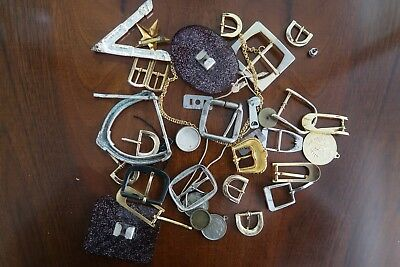 Lot Of over 15 Belt Buckles (old)