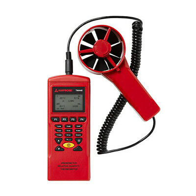 Amprobe TMA-40A Datalogging Anemometer with USB Cable