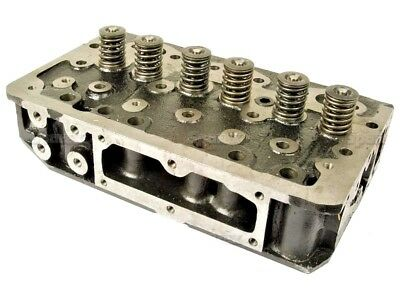 Cylinder Head Complete With Valves Fits Massey Ferguson 35 (3 Cyl) Tractors.