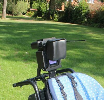 Head switches power wheelchair dynamic headset, special needs array, control