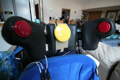 Head switches power wheelchair headset, special needs array, control