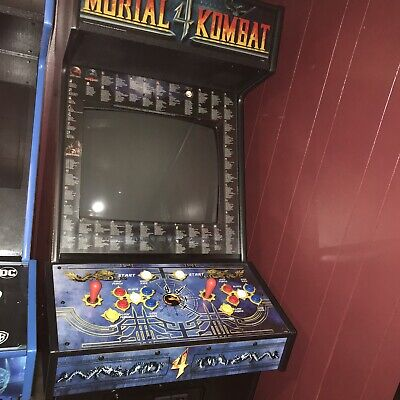 Mortal Kombat ARCADE CABINET Includes 5 In Switcher W/ MK: 1,2,3 And 4 Boards