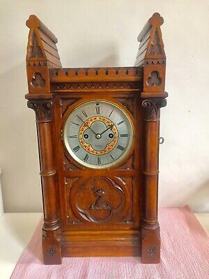 Rare Antique Twin  Fusee Bracket Clock By John Cartel. C1840