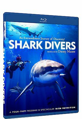 Shark Divers Widescreen New Sealed 2012 Blu-Ray New Sealed Blu-Ray