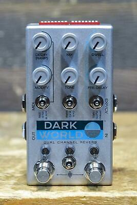 Chase Bliss Audio Dark World Dual Channel Reverb Digital Reverb Effect Pedal