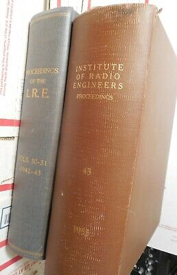 About 2000 pages of vintage ham radio info from 1940's, 1950's...I.R.E. bound!