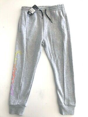 Bnwt Billabong Girls Kids Laid Back Trackies Trackpants Size 10 Rrp $69.99