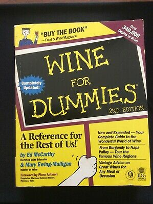 WINE for DUMMIES 2nd Edition Your Complete Guide to the Wonderful World of Wine