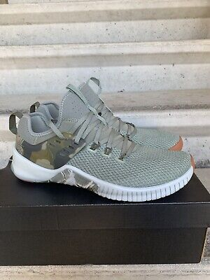 7941f81db2c32 Nike Free X Metcon Mens Size 10 Training Shoes AH8141-002 Dark Olive Green  Camo