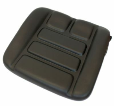Seat Cushion Seat Cushion Tractor Forklift Grammer DS85/90 PVC Black