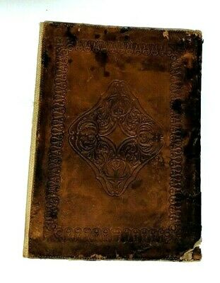 Vintage Leather Book Notebook Brown Design Cover