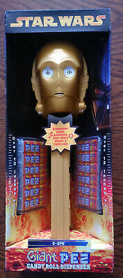 Giant Star Wars C3PO Musical Pez Dispenser - Over 12 Inches Tall - NEW!