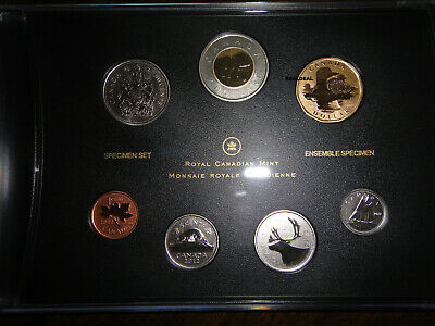 2012 Canada 7-Coins Specimen Set with 25th Anniversary Loonie
