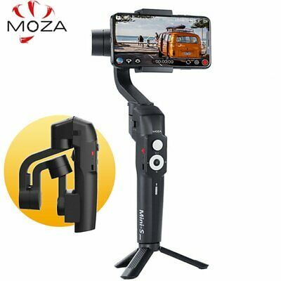 MOZA MINI-S 3-Axis Foldable Handheld Gimbal Stabilizer For IPhone Huawei Sumsang