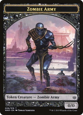 Wizard Token War of the Spark MTG Magic The Gathering NM 8x 005//019