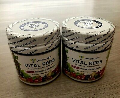 Gundry MD Vital Reds Concentrated Polyphenol Blend Red Berry x 2 (Latest Expiry)