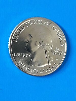2019 W Lowell National Historical Park 1 UNC Quarter from bank roll ~Rare