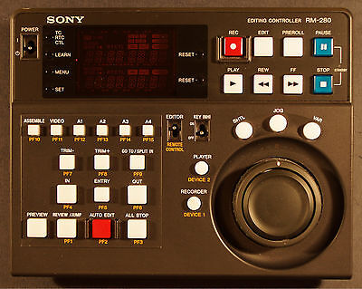 Sony Editing Controller RM-280