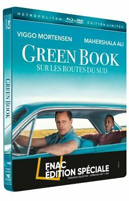 Green Book  Blu Ray + Dvd Steelbook Edition Fnac  Neuf Sous Blister